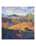 Hills of Paso Prints by Erin Hanson