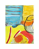 Glass Bowl by the Beach Window Prints by Joan Davis