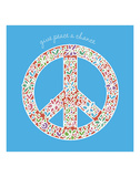Give Peace a Chance Poster by Erin Clark