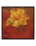 Gingkos 2 Prints by John W. Golden