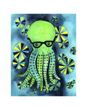 Geeky Octopus Prints by  My Zoetrope