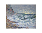 Fécamp, bord de mer, 1881 Prints by Claude Monet