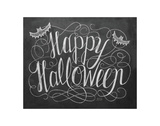 Happy Halloween Prints by LLC., Lily & Val