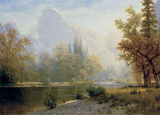 Half Dome, Yosemite Prints by Albert Bierstadt