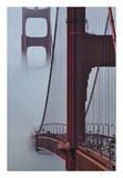 Golden Gate Bridge Posters by Sabri Irmak