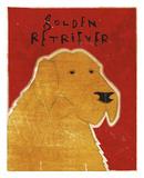 Golden Retriever Posters by John W. Golden