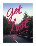 Get Lost Prints by Leah Flores