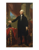 George Washington (Lansdowne Portrait), 1796 Print by Gilbert Stuart