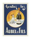Goutez les Aubel & Fils Posters