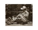 Gettin Ready to Rodeo Print by Barry Hart