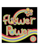 Flower Power Print by Mali Nave
