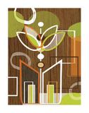 Gerber Motif Posters by Linda Ketelhut