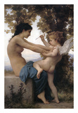 Girl Defending Herself Against Love Plakaty autor William-Adolphe Bouguereau