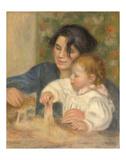 Gabrielle et Jean, 1895-1896 Posters by Pierre-Auguste Renoir