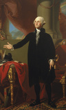 George Washington (Lansdowne Portrait), 1796 Prints by Gilbert Stuart