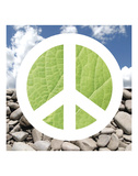 Green Peace Prints by Jenny Kraft