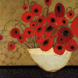 Frida's Poppies Affiches par Karen Tusinski