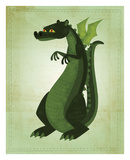 Green Dragon Prints by John W. Golden