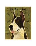 Great Dane (Mantle) Poster by John W. Golden