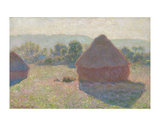 Haystacks, Midday, 1890 Prints by Claude Monet