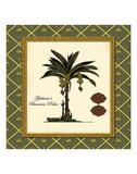 Ghiberie's Banana Palm Poster by Karl Rattner