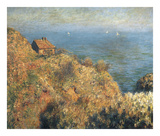 Fisherman's Lodge at Varengeville Posters by Claude Monet