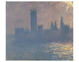 Houses of Parliament, Sunlight Effect (Le Parlement, effet de soleil), 1903 Posters by Claude Monet