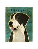 Great Dane (Mantle, no crop) Prints by John W. Golden