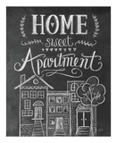 Home Sweet Apartment Prints by LLC., Lily & Val