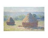 Claude Monet - Haystacks, End of Summer, 1891 Plakát