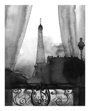 Here's Looking at You Paris (B/W) Reprodukcje autor Jessica Durrant