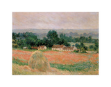 Haystack at Giverny, 1886 Posters by Claude Monet