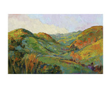 Green Paso Poster by Erin Hanson