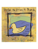 How to Draw a Duck Prints by Brian Nash