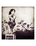 Garudasana Posters af Gosia Janik