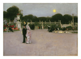 In the Luxembourg Gardens, 1879 Prints by John Singer Sargent