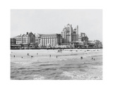 Hotels, Atlantic City, NJ Print by  Vintage Photography
