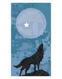 Howling Wolf Prints by Kevin Daniel