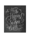It's The Happiest Season Of All Póster por LLC., Lily & Val