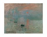 Claude Monet - Impression, Sunrise - Poster