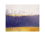 Gray-Violet Landscape Prints by Wolf Kahn