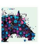 Horse Print by Teofilo Olivieri