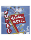 Holiday Motel Posters by Anthony Ross