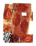 Hojas Rojas Prints by Carolina Pecora