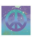 Groovy Peace Prints by Erin Clark