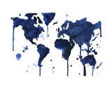 It's a Blue Blue World Prints by Jessica Durrant