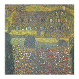 House in Attersee Prints by Gustav Klimt