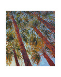 Into the Palms (right) Prints by Erin Hanson