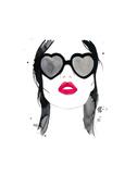 Kiss 'em and Hide Affiches par Jessica Durrant