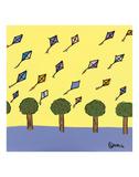 Kites Print by Brian Nash